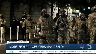 More federal officers may deploy