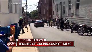 Charlottesville suspect was infatuated with Nazis, former high school teacher says - Video