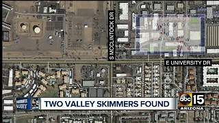 Two Valley skimmers found - Video