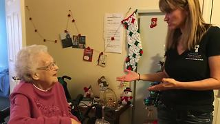 97-year-old woman raises money for babies in need - Video