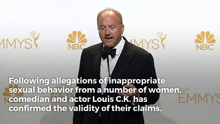 Louis C.K. on Sexual Misconduct Allegations: 'These Stories Are True' - Video