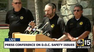 Press conference on Arizona prison safety issues