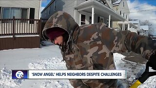 Buffalo 'Snow Angel' helps other despite health challenges