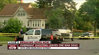 Overnight shooting leaves one person dead - Video