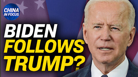 Biden admin's 1st trade report calls out China; China state-run media comments on April Fool's day