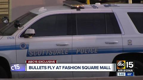 Witness describes officer-involved shooting at Scottsdale mall