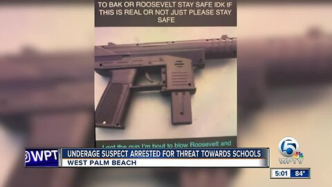 Juvenile arrested after Snapchat threat to Bak, Roosevelt schools in West Palm Beach