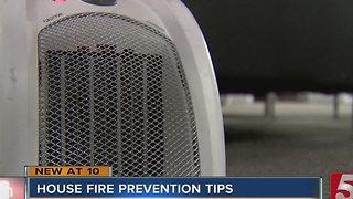 Fire Officials Offer Tips To Prevent House Fires - Video