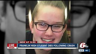 Franklin teen critically injured in crash with semi dies - Video