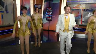 WXYZ gets a preview of 42nd Street in studio