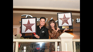 Donny & Marie Osmond honored with star