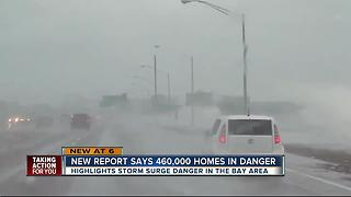 New Report: 460K Tampa Bay Homes at Risk of Storm Surge - Video