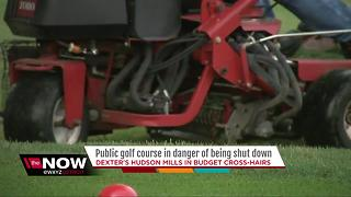Public golf course in danger of being shut down
