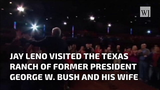 George W. Bush Discusses Post-Presidential Life With Jay Leno - Video