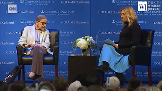 Ruth Bader Ginsburg Still Can't Get Over Hillary Clinton's Defeat By Donald Trump - Video