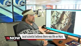 Local scientist has evidence of life on Mars - Video