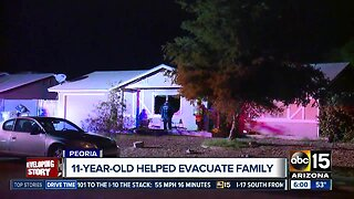 Children escape house fire after Christmas tree sparks flames