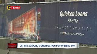 Here's what you should know about the construction around the Q for Indians' Home Opener - Video