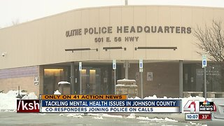 Johnson County hiring more mental health co-responders - Video