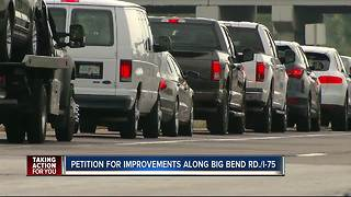 Man starts petition to speed up improvements along Big Bend Road - Video