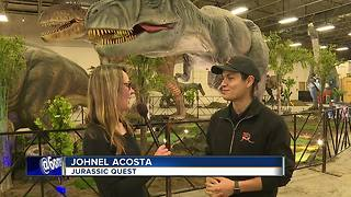 Jurassic Quest at Expo Idaho - Video