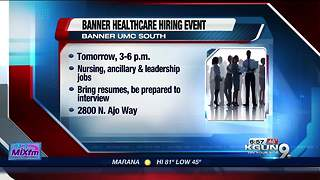 Banner Healthcare Hiring Event - Video