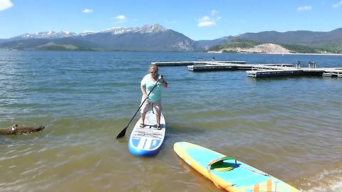 How Not To Ride A Paddle Board