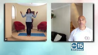 Celebrity Trainer Oscar Smith shows you how to get a beach body during COVID