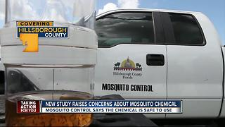 New health concerns sparked by mosquito spray - Video