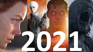 My Most Anticipated Video Games of 2021