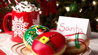 Krispy Kreme's New Holiday Collection Features an Ugly Sweater Donut - Video