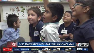 Registration open for the Clark County School District - Video