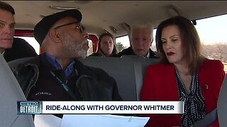 Ride-along with Governor Whitmer