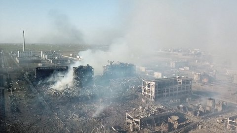 At Least 64 Dead After Chinese Chemical Plant Explosion