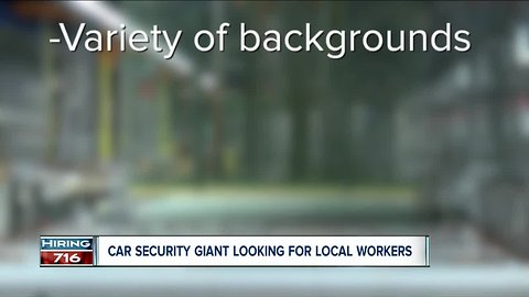 Local wheel lock giant is searching for manufacturing workers