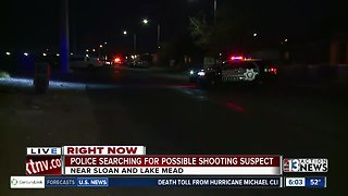 Search continues for shooting suspect