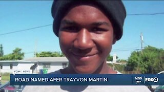 Road to high school renamed after Trayvon Martin