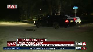 Man found dead in North Fort Myers home - Video