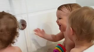 You'll Never Love Anything As Much As These Babies Love Bath Time - Video