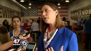 Former defense official running against Bishop for Congress - Video