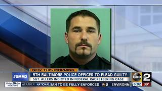 BPD officer to plead guilty in task force scandal - Video