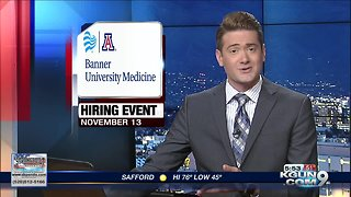 Banner University Medicine hiring event - Video