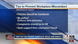 How you can prevent workplace sexual misconduct