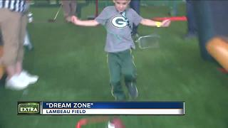 Families, Packers' fans swarm Lambeau Field for Packers' Family Night - Video
