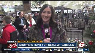 Black Friday: Shoppers hunt for deals at Cabela's - Video