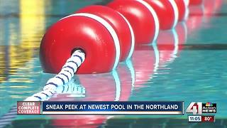 Get a sneak peek at the Northland's new public pool - Video