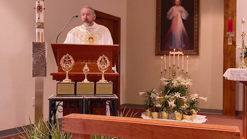Divine Mercy Sunday April 11, 2021 with Rev. Michael Goodyear