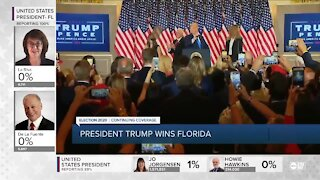 Trump claims that election is being stolen, falsely declares victory as votes are being counted