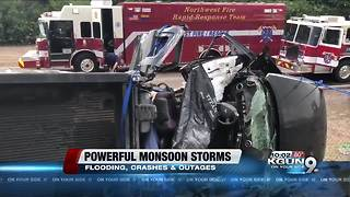 Stranded motorists, power outages: Severe weather wreaks havoc on Tucson area