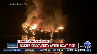 Bodies recovered after California boat fire